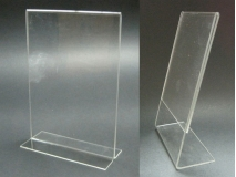 Acrylic display - leaflet holder