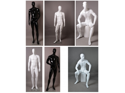 Fiberglass mannequin - full body male 4#