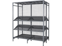41Pitch Outrigger Shelving-Australia style