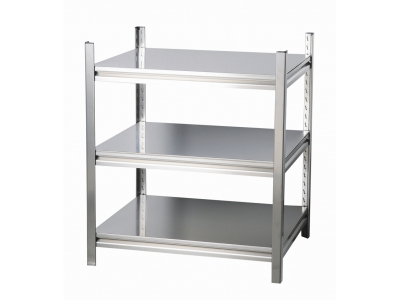 Boltless rivet shelving-stainless steel rivet shelving