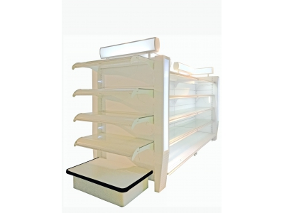 Gondola shelving - Cosmetics shelves