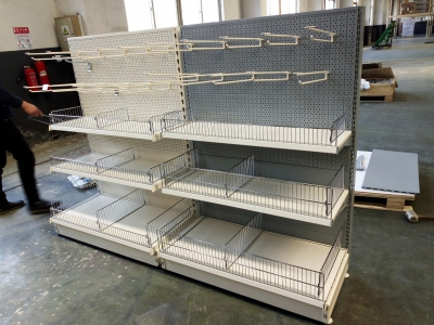 Gondola Tego Shelving-detachable base leg